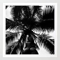 Palm with Sass  Art Print