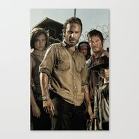 The Walking Dead - The C… Canvas Print