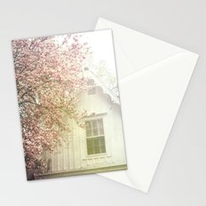 Cottage and Magnolias Stationery Cards