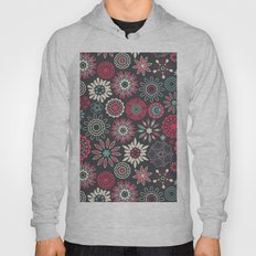 small detailed flowers Hoody