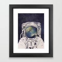 Dreaming Of Space Framed Art Print