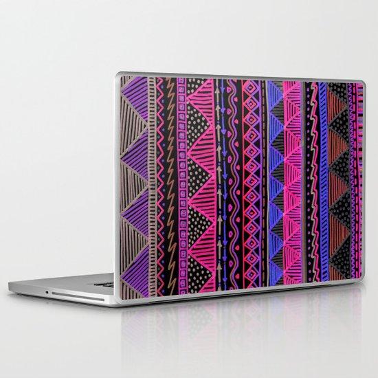 Ocean T Neon Laptop & iPad Skin
