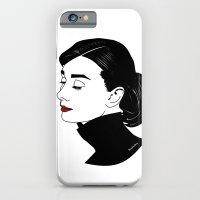 audrey hepburn iPhone & iPod Cases featuring Audrey Hepburn  by Pendientera