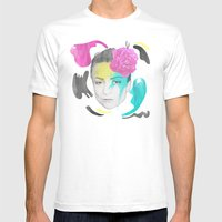 The Queen of Digression Mens Fitted Tee White SMALL