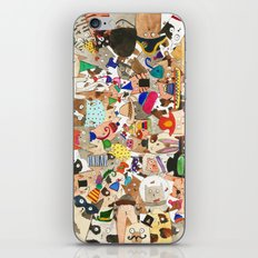 Cat's Millinery Mania  iPhone & iPod Skin