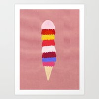I Scream, You Scream, We… Art Print