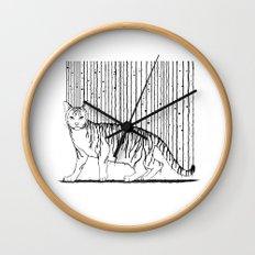 Inkcat5 Wall Clock