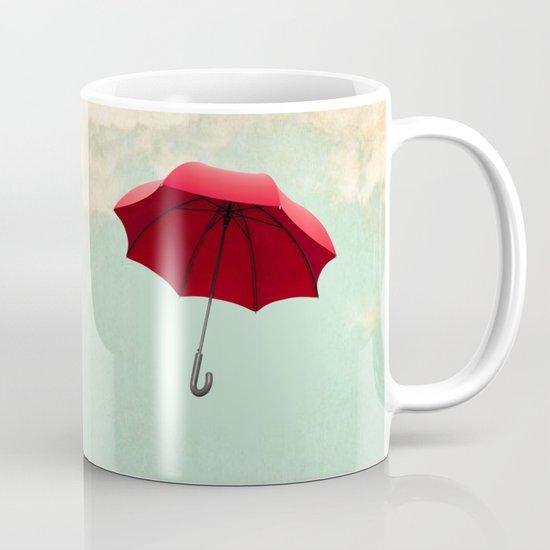 Red Umbrella Mug