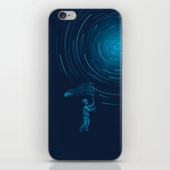 Catch a Star trail iPhone & iPod Skin