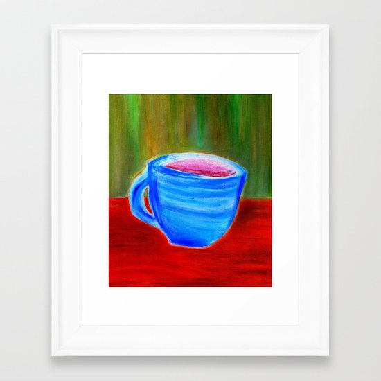 Rhapsody Café Framed Art Print