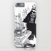 GOD IS A DJ iPhone 6 Slim Case