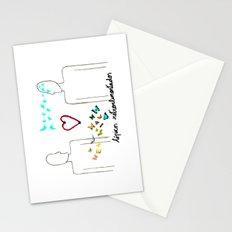 Tópicos retroalimentados Stationery Cards