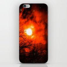 Burning Moon iPhone & iPod Skin