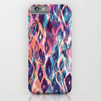 iPhone & iPod Case featuring Mystical Ikat by Nikkistrange