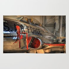 1960's Training Jet. Chrome Plated! Rug