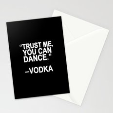 Trust me, you can dance. Stationery Cards