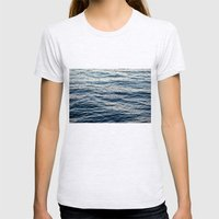 Water 2 Womens Fitted Tee Ash Grey SMALL