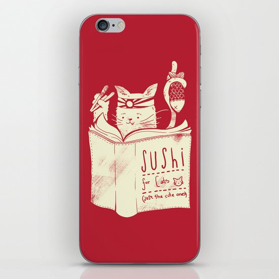 Sushi for Cats iPhone & iPod Skin