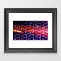 In SpaceS BETWEEN Framed Art Print