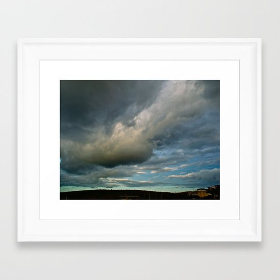 Grace Clouds II Framed Art Print