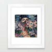 HIDE & SEEK Framed Art Print
