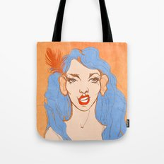 selfie girl_2 Tote Bag