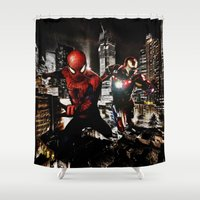 Dynamic Duo Shower Curtain
