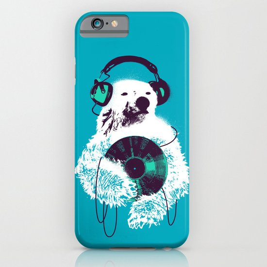 Record Bear iPhone & iPod Case