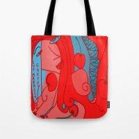 Luv Maraschino Cherry Tote Bag