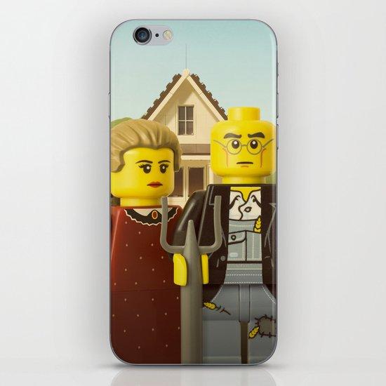 American Gothic iPhone & iPod Skin