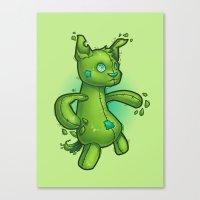 toydog Canvas Print