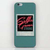 Selfie Game Strong iPhone & iPod Skin