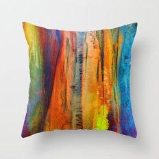 Ice Curtain 4 Throw Pillow