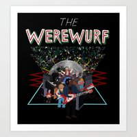 The Werewurf Band Art Print