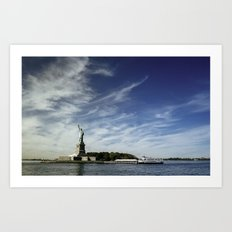 Statue of Liberty 2. Art Print