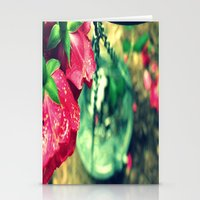 Rose and Chain Stationery Cards