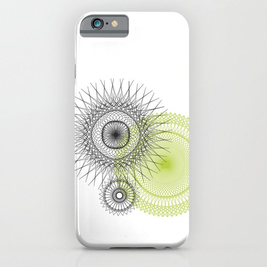 Modern Spiro Art #3 iPhone & iPod Case