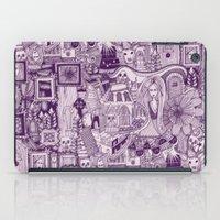 Nightmares Purple iPad Case