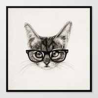 Mr. Piddleworth Canvas Print