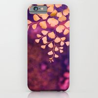 iPhone & iPod Case featuring yellow hearts by Claudia Drossert