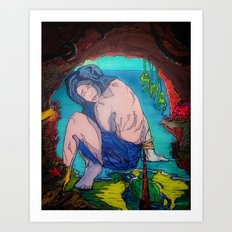 Bound & Cavernous Art Print