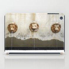 Three Lions Fountain iPad Case