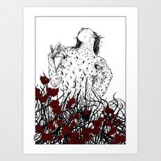 Apollonia Saintclair 428… Art Print