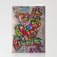 Robot Bears Stationery Cards