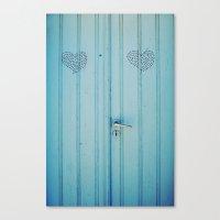 The Love Door Canvas Print