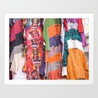 India New Delhi Paharganj 5578 Art Print