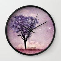 My purple dream Wall Clock
