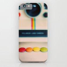 over the pola rainbow iPhone 6 Slim Case
