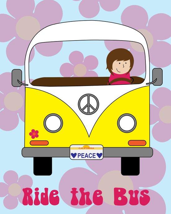 Ride the Bus Art Print