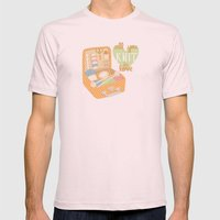All You Knit Is Love Mens Fitted Tee Light Pink SMALL